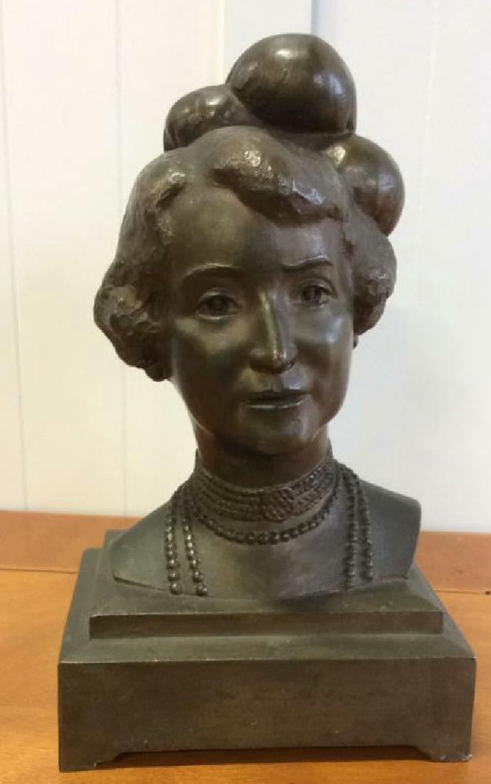 Gorham Bronze Female Bust Artist Proof