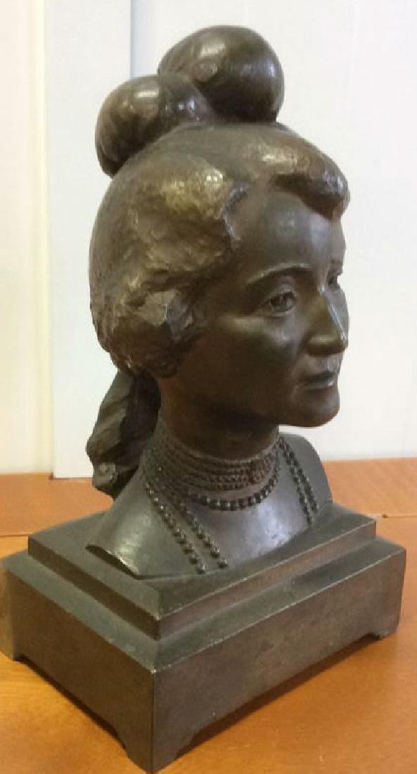 Gorham Bronze Female Bust Artist Proof - 2