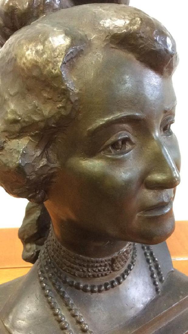 Gorham Bronze Female Bust Artist Proof - 3