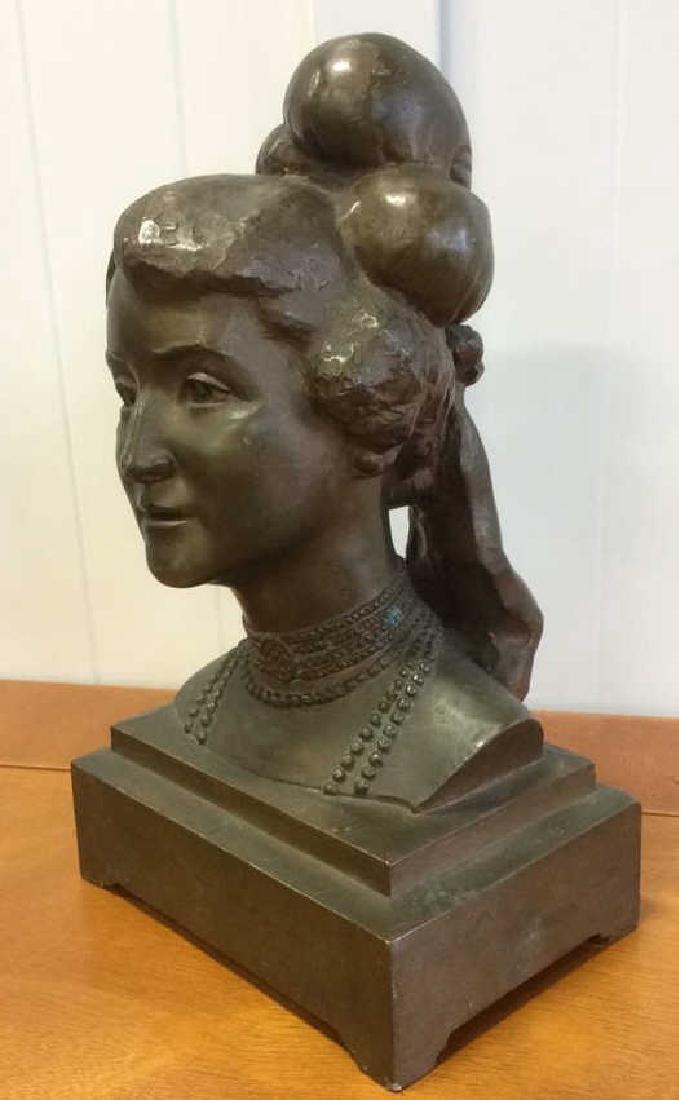 Gorham Bronze Female Bust Artist Proof - 4