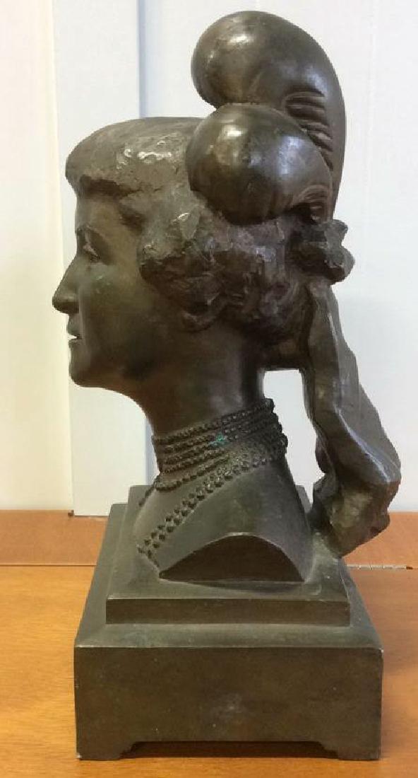 Gorham Bronze Female Bust Artist Proof - 5
