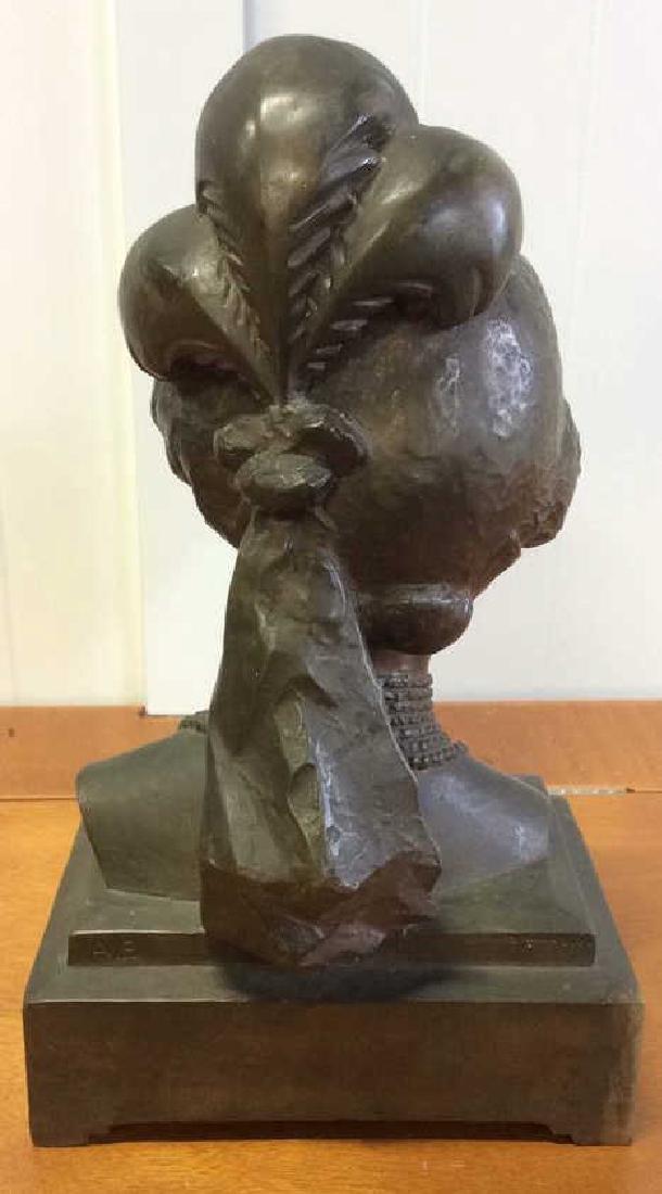 Gorham Bronze Female Bust Artist Proof - 6