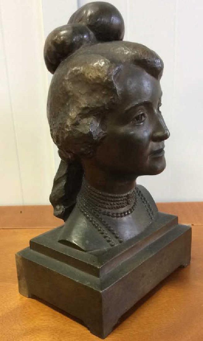 Gorham Bronze Female Bust Artist Proof - 8