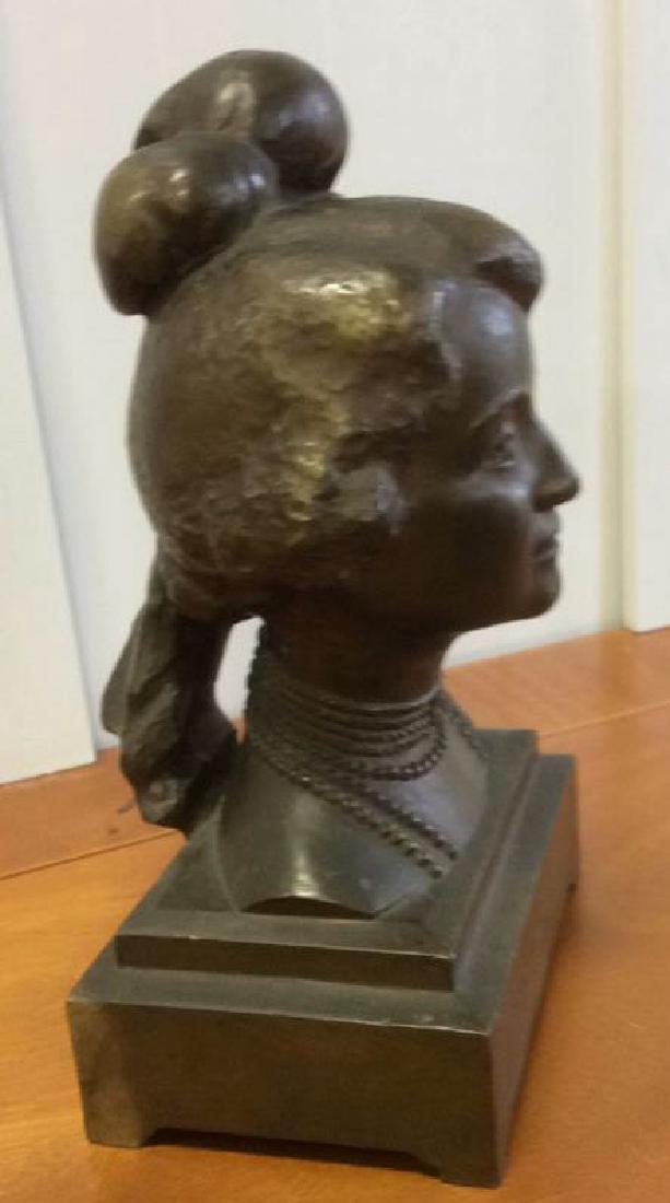 Gorham Bronze Female Bust Artist Proof - 9
