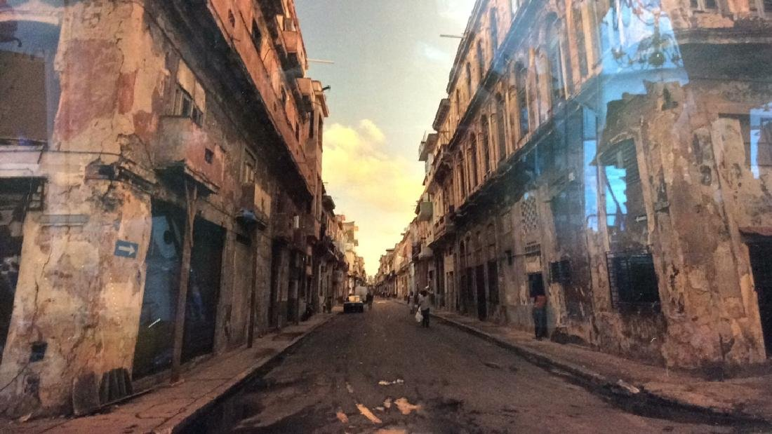 Impoverished City Street Photograph