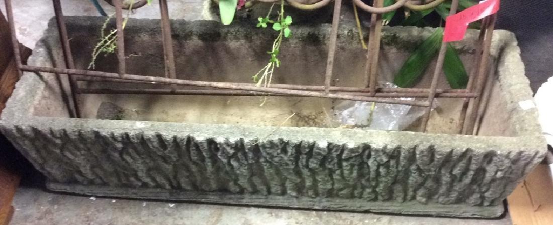 Stone Cement Vintage Planter