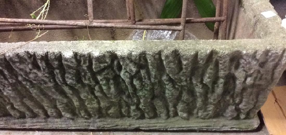 Stone Cement Vintage Planter - 2