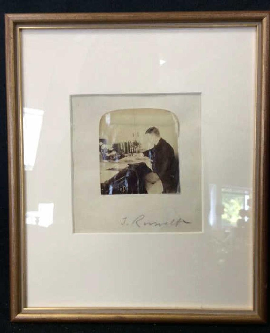 Autographed Photograph of Theodore Roosevelt