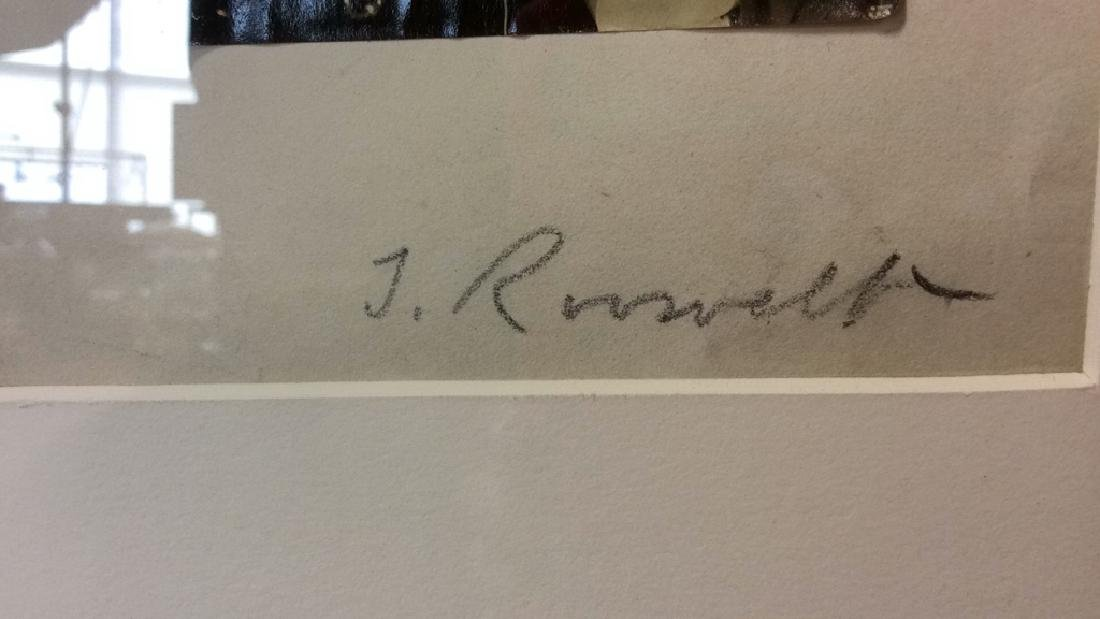 Autographed Photograph of Theodore Roosevelt - 3