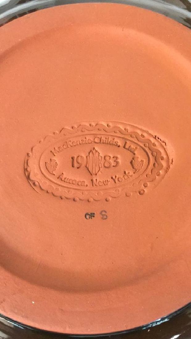 Lot 6 MCKENZIE CHILDS LTD Ceramic Ware - 4