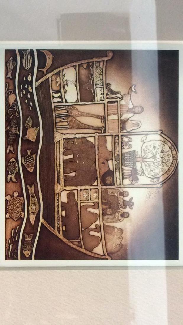 Art Print of Barbara Garrison Etching - 2