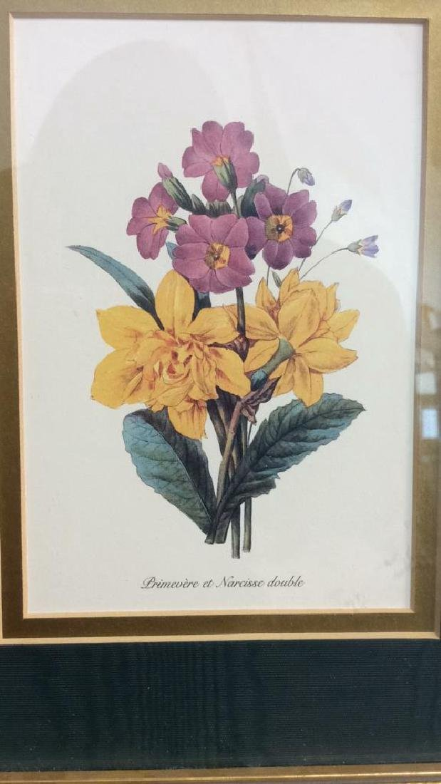 Framed Decorative Floral Art Print - 2