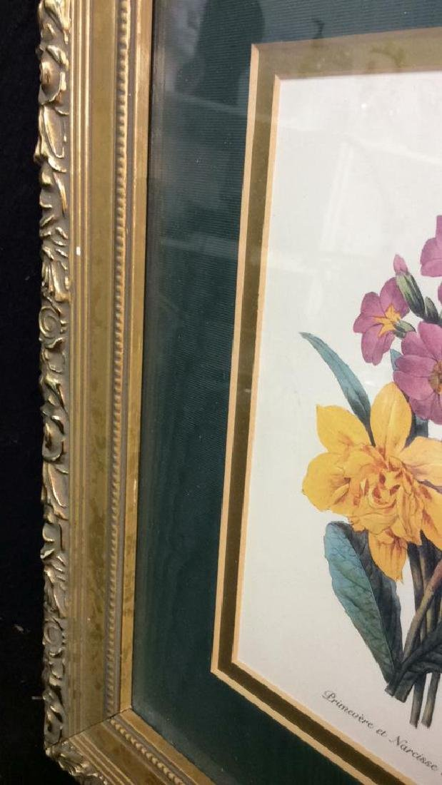 Framed Decorative Floral Art Print - 5