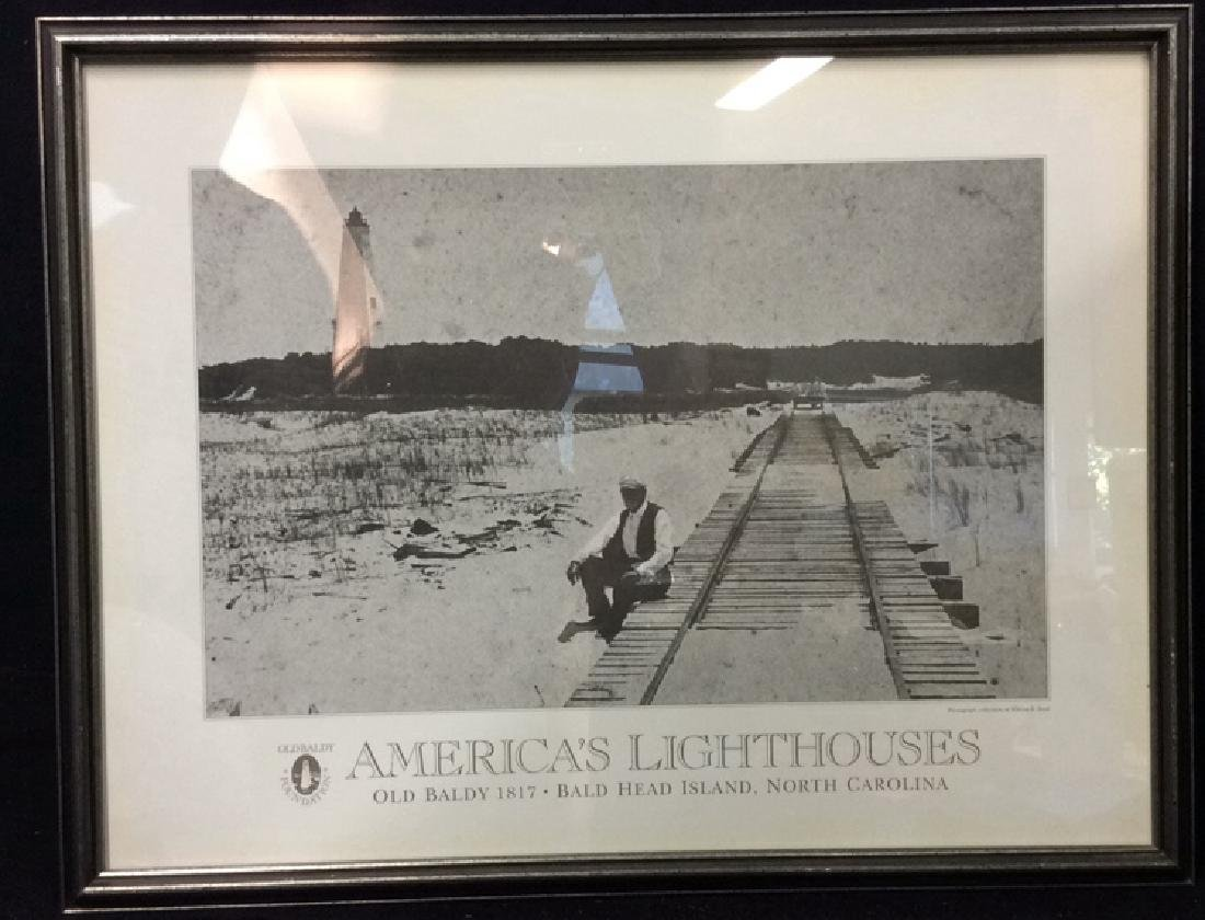 """Art Poster """"America's Lighthouses"""""""