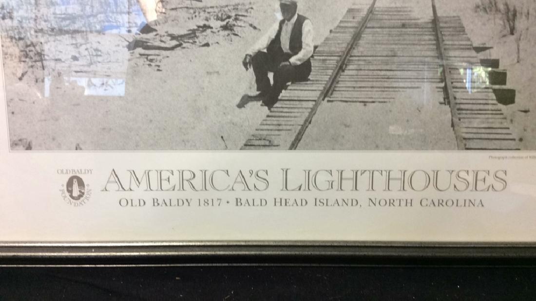 """Art Poster """"America's Lighthouses"""" - 3"""