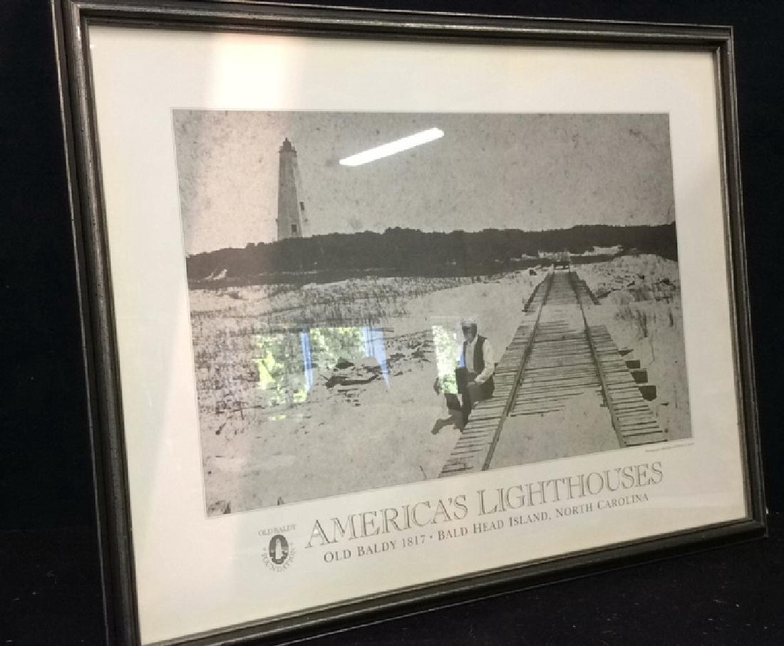 """Art Poster """"America's Lighthouses"""" - 9"""