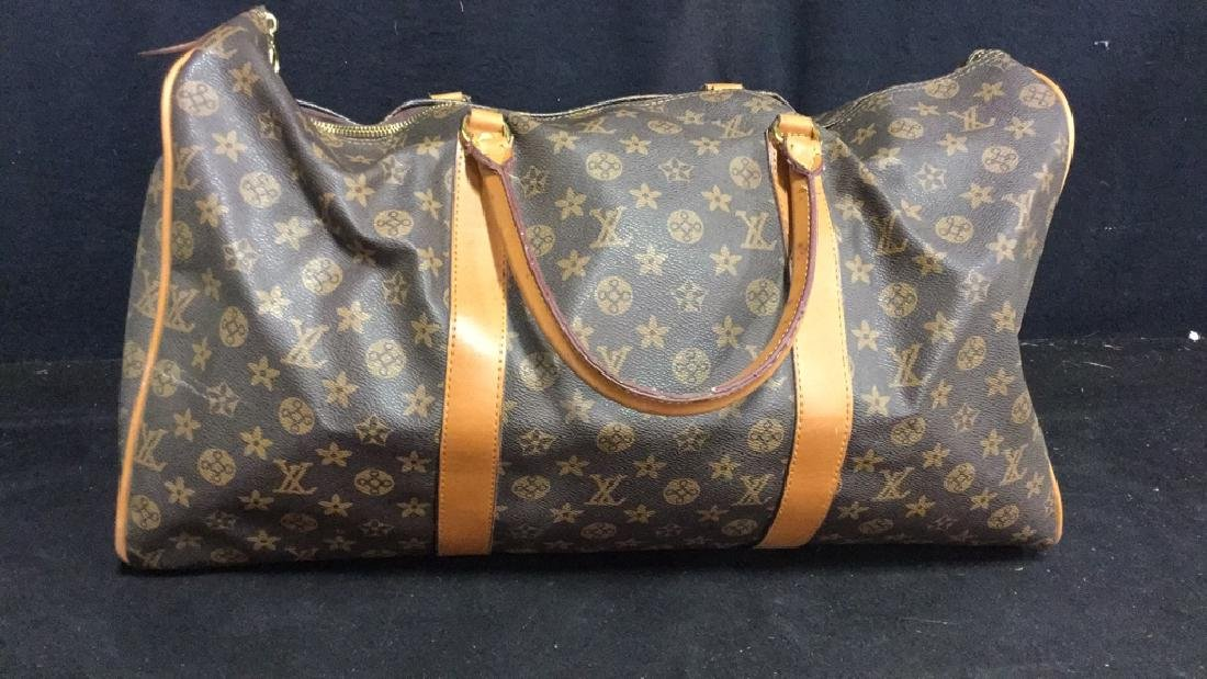 LOUIS VUITTON Duffel Bag Satchel Valise - 2