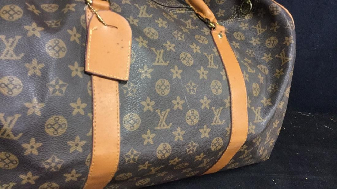 LOUIS VUITTON Duffel Bag Satchel Valise - 4