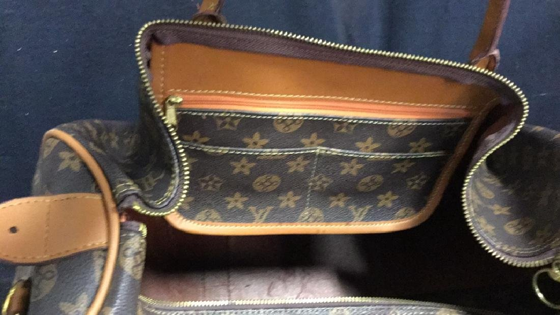 LOUIS VUITTON Duffel Bag Satchel Valise - 9