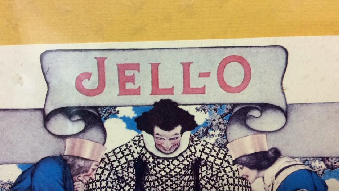 JELL-O VIntage Framed  Advertisement - 4