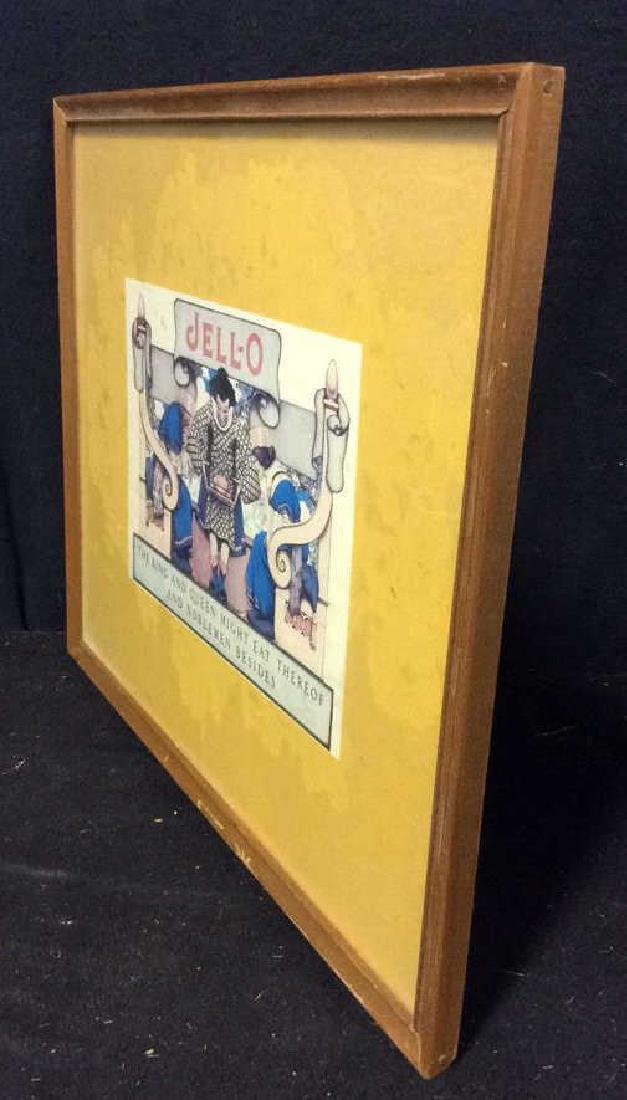 JELL-O VIntage Framed  Advertisement - 7