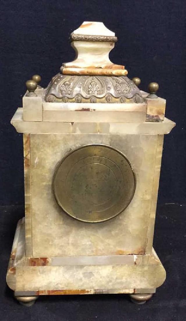 Vintage Telecron Marble Mantel Clock - 5