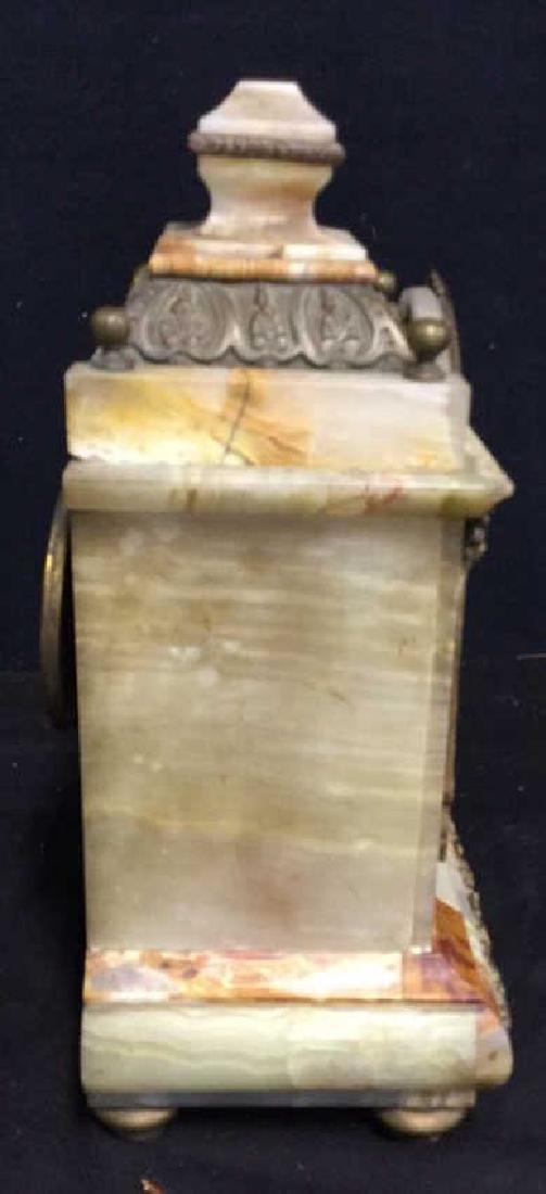 Vintage Telecron Marble Mantel Clock - 7