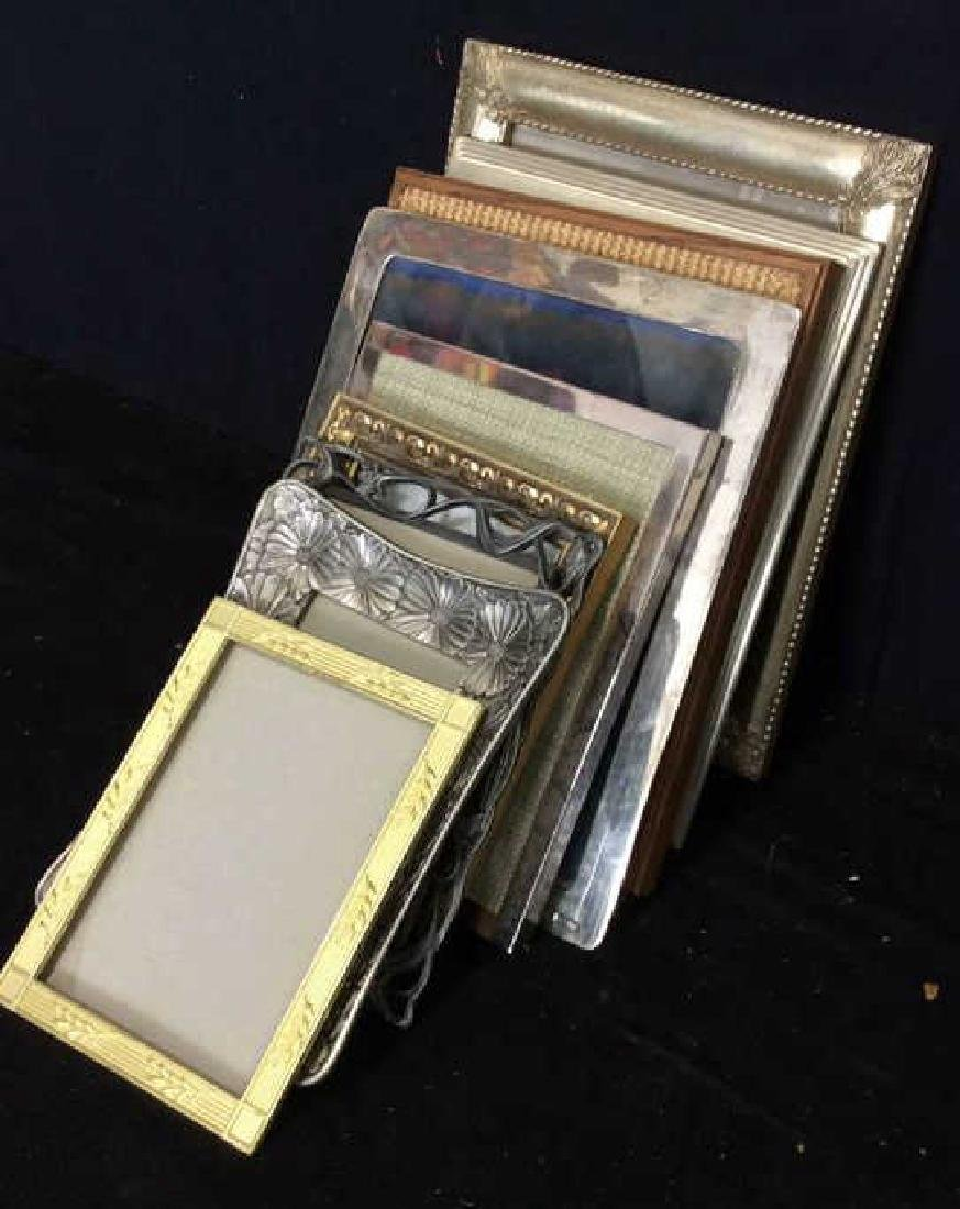 Group Lot Assorted Picture Frames - 2