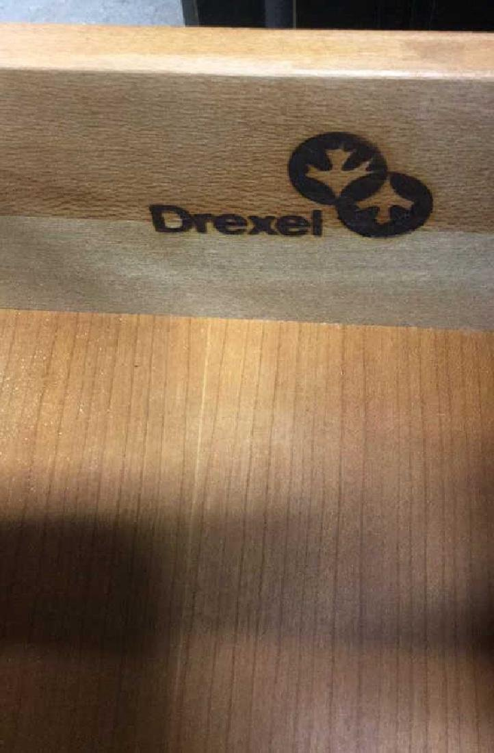 DREXEL Wooden Nightstand Chest Table - 8