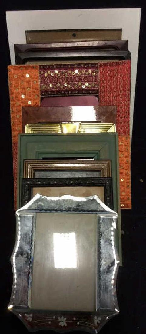 Group Lot Assorted Picture Frames