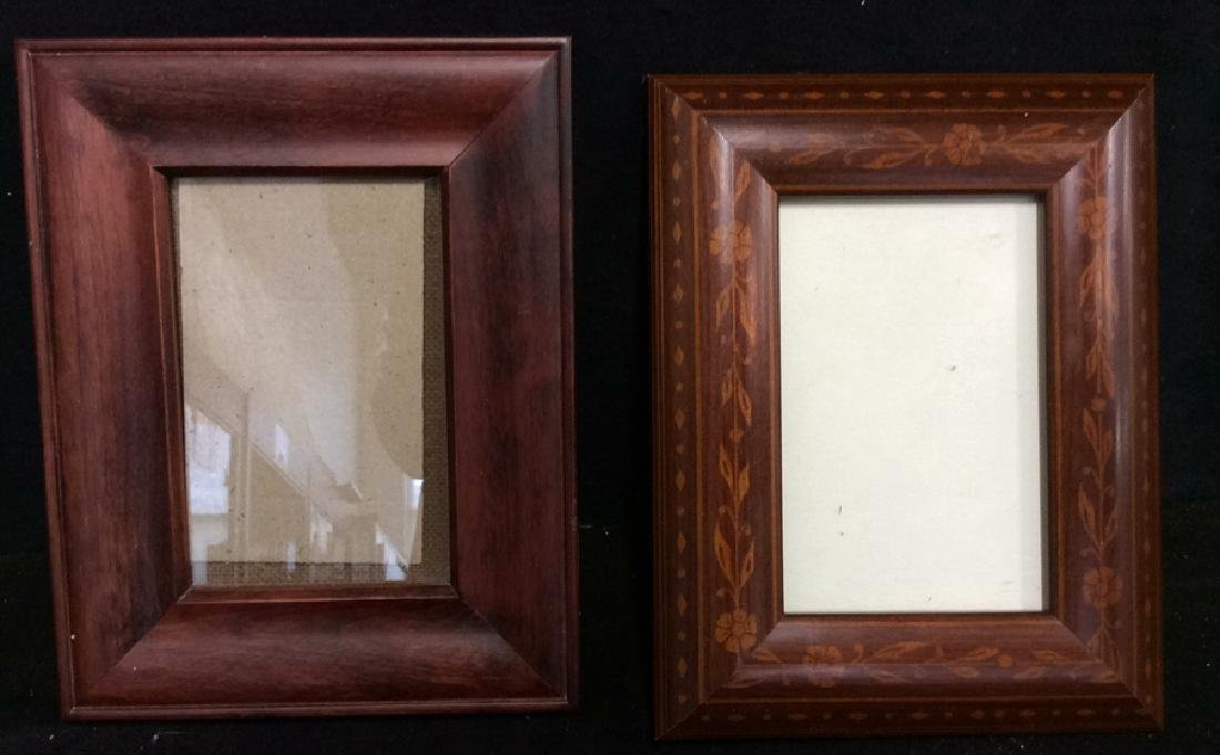 Group Lot Assorted Picture Frames - 6