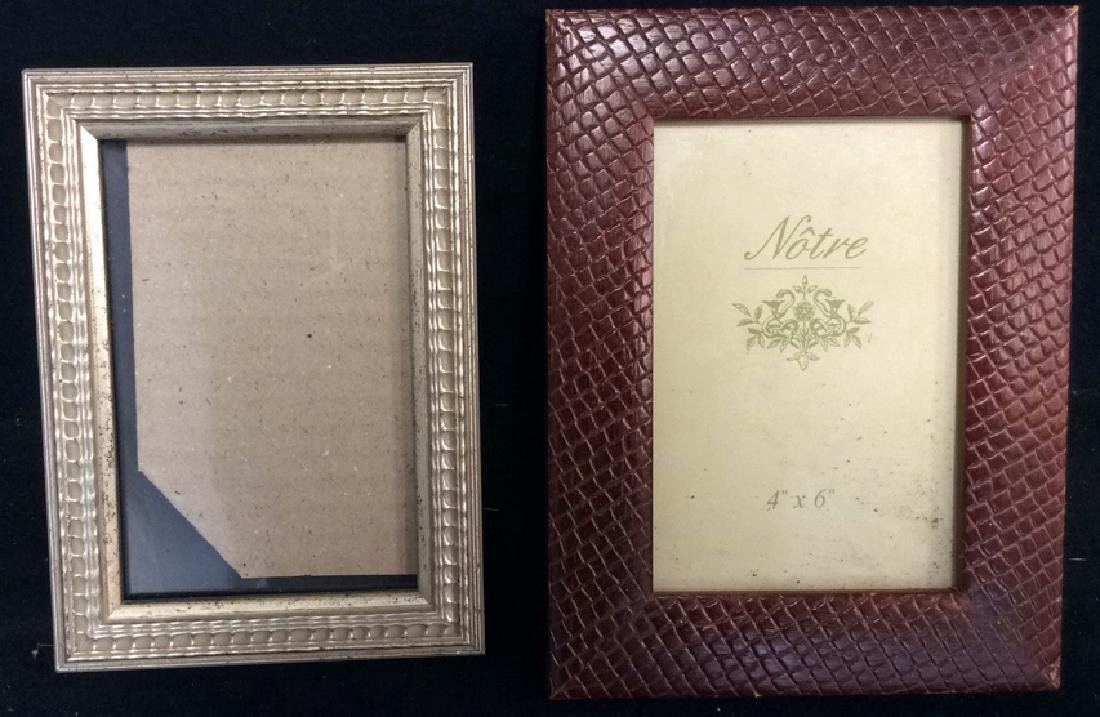 Group Lot Assorted Picture Frames - 7