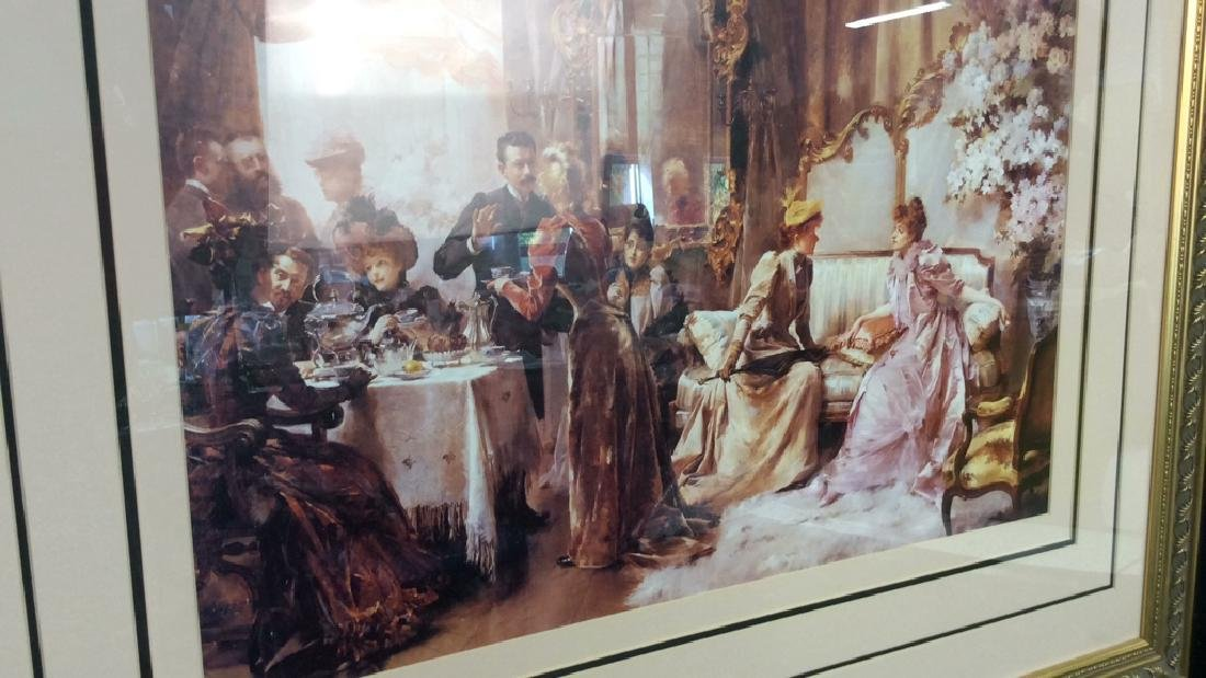 Art Print  Victorian Era Gathering - 2