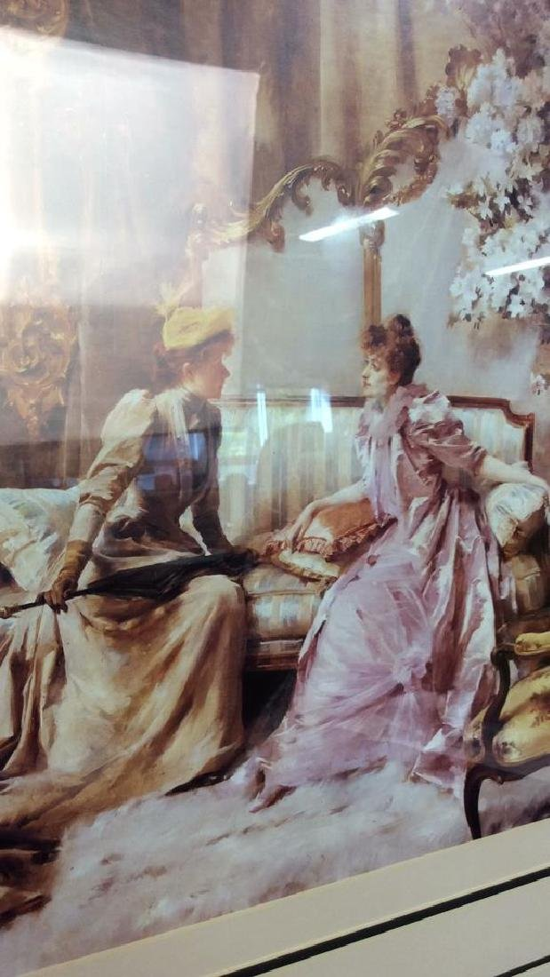 Art Print  Victorian Era Gathering - 3