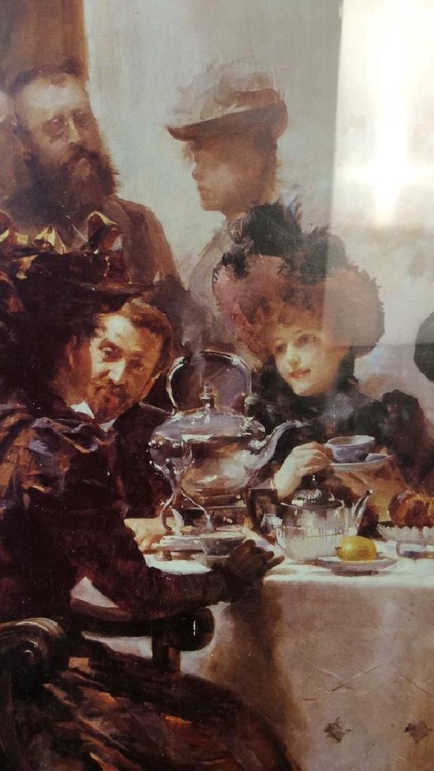 Art Print  Victorian Era Gathering - 5