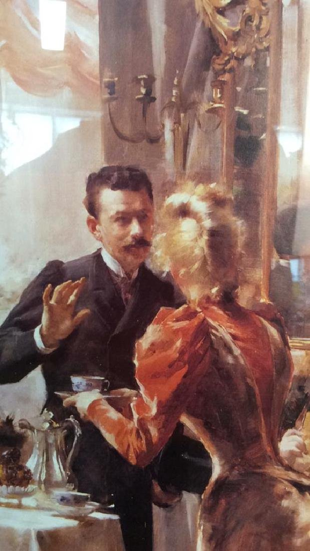 Art Print  Victorian Era Gathering - 6