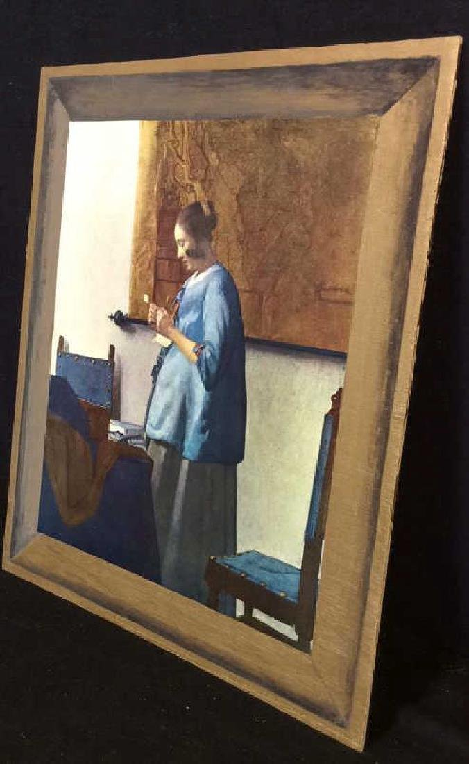 Art Print Johannes Vermeer Woman in Blue Reading - 6