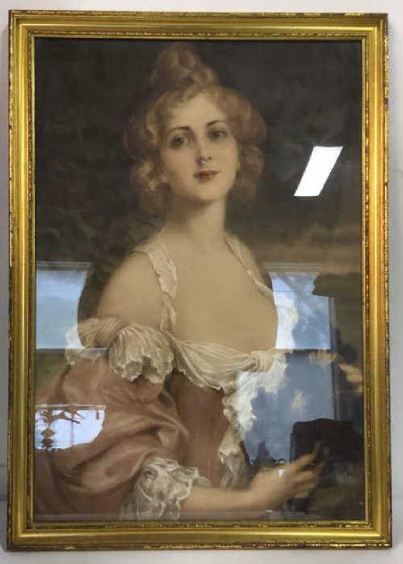 Professionally Framed Portrait Print
