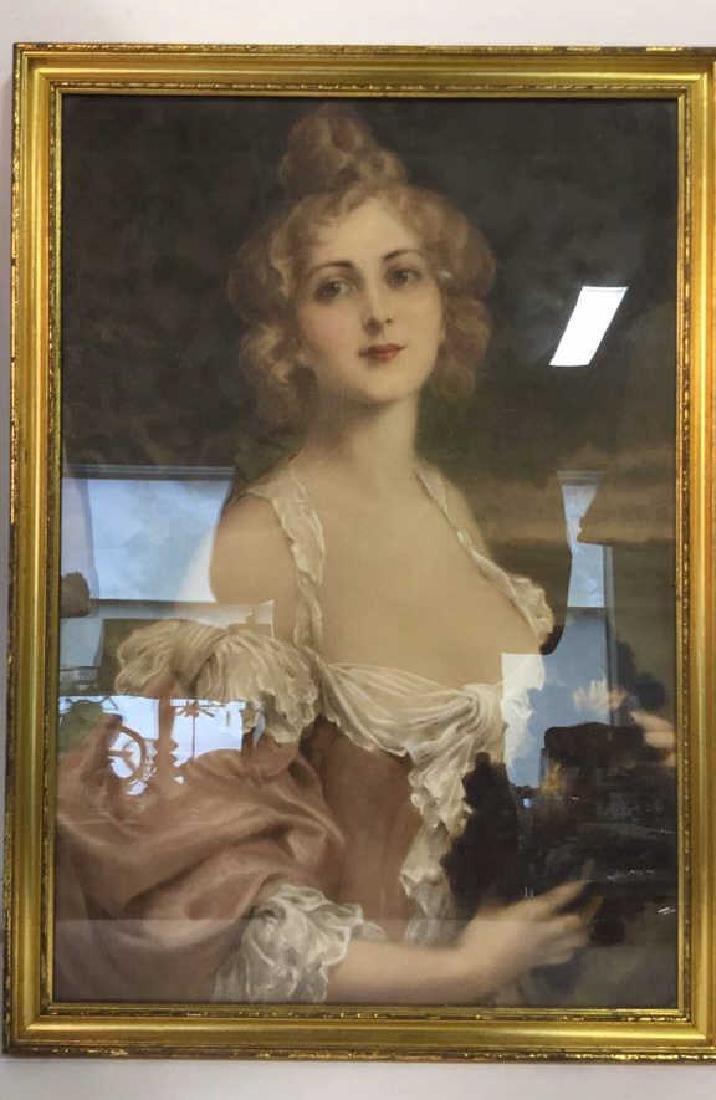 Professionally Framed Portrait Print - 2