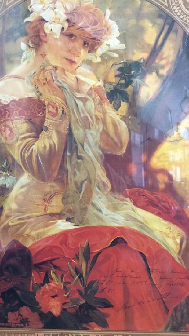 Alphonse Mucha Art Print - 6