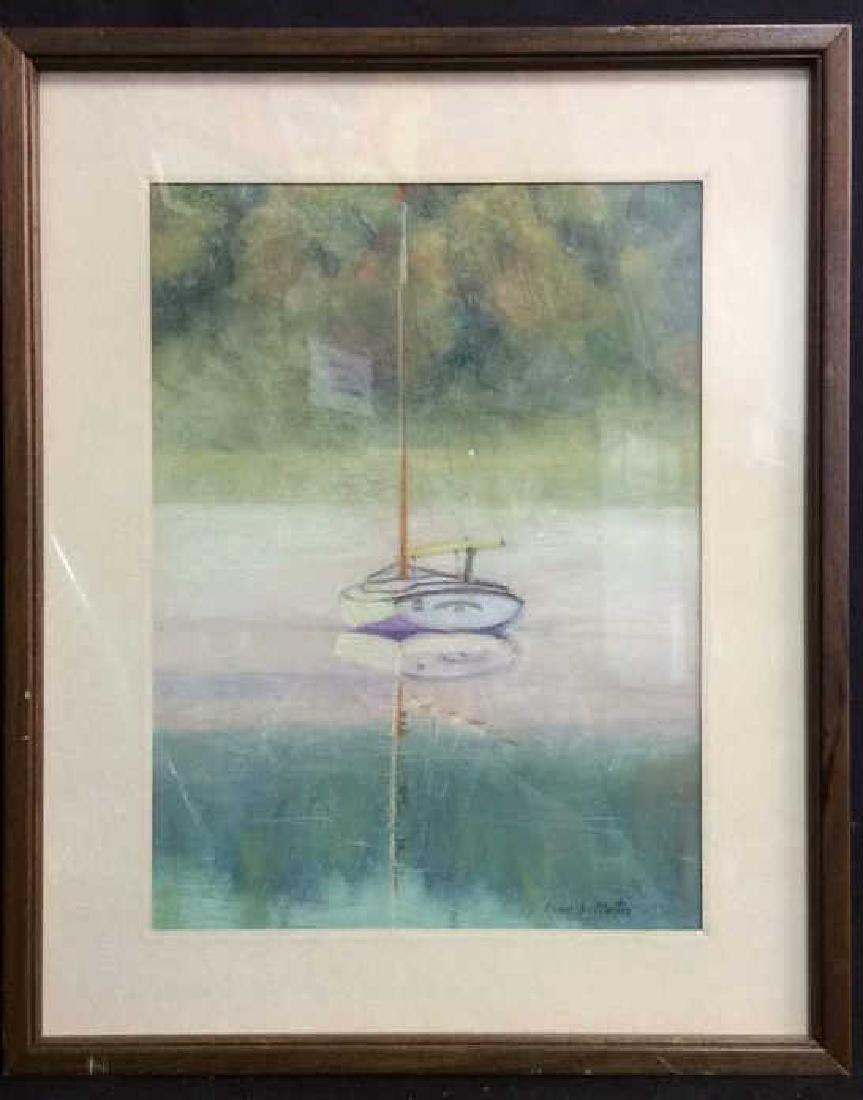 Sail Boat Illustration Elinor L. Martin