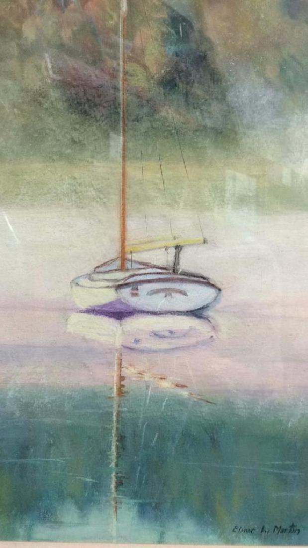 Sail Boat Illustration Elinor L. Martin - 2