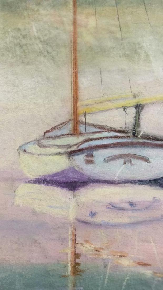 Sail Boat Illustration Elinor L. Martin - 6