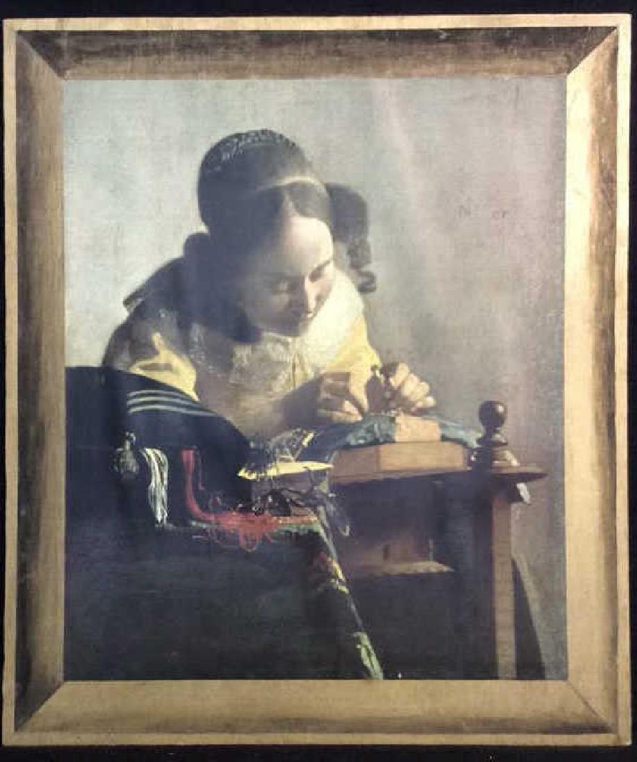 Art Print The Lace Maker Johannes Vermeer