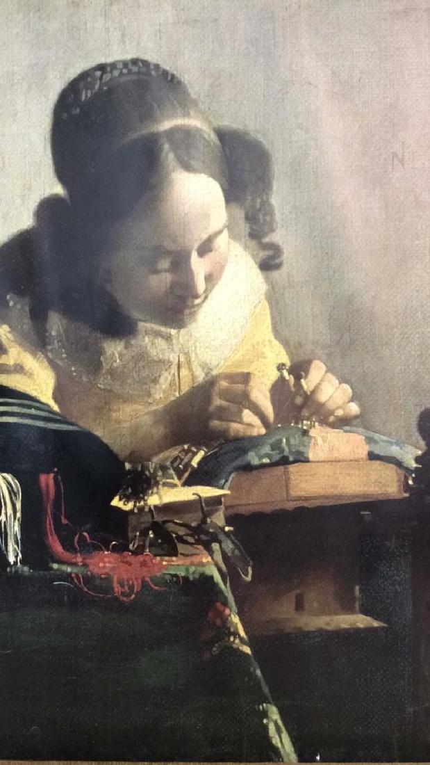 Art Print The Lace Maker Johannes Vermeer - 2