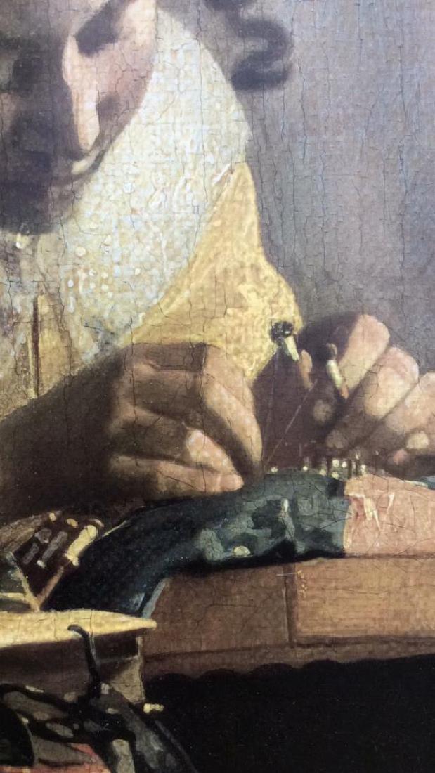 Art Print The Lace Maker Johannes Vermeer - 3