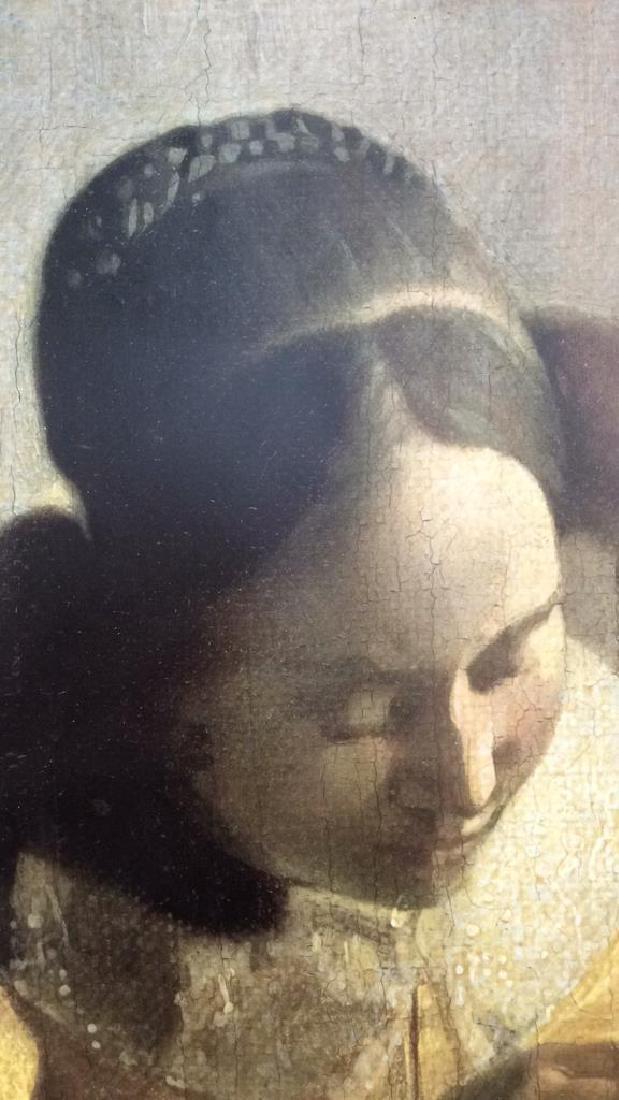 Art Print The Lace Maker Johannes Vermeer - 5