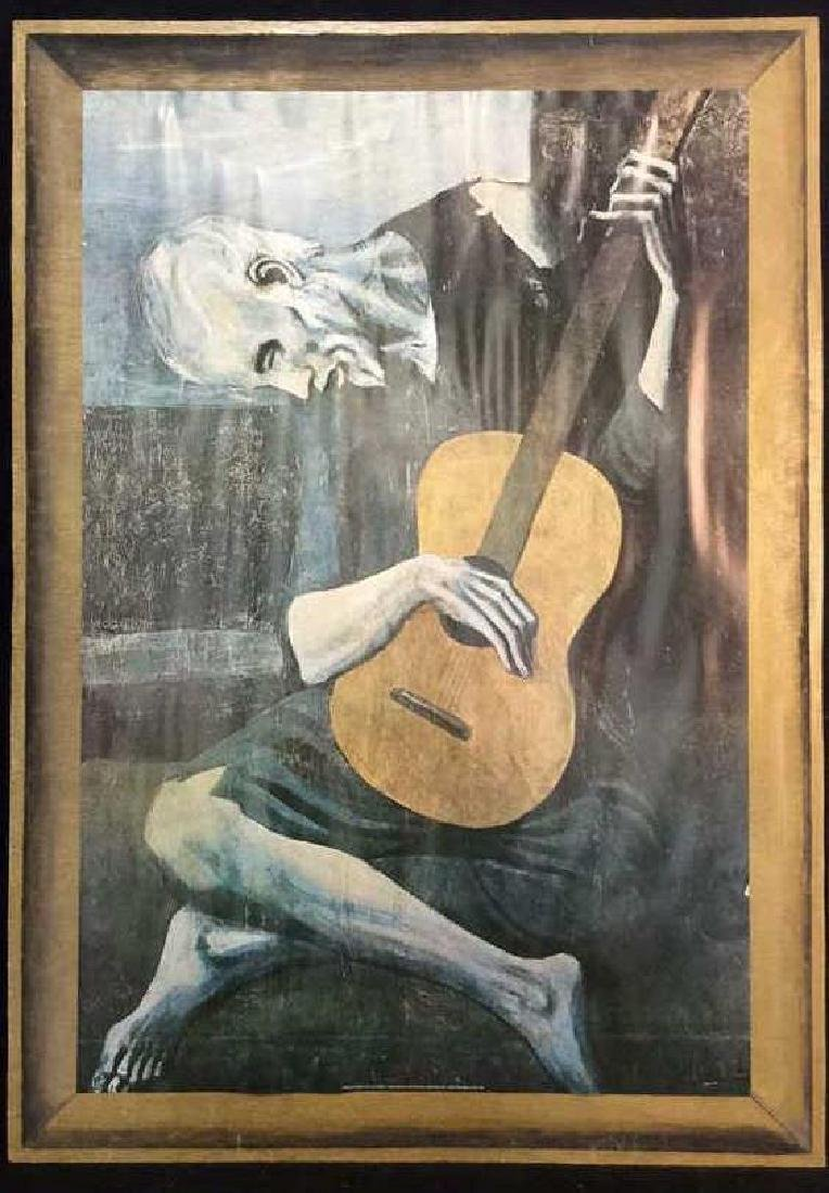 Art Print Old Guitarist Pablo Picasso