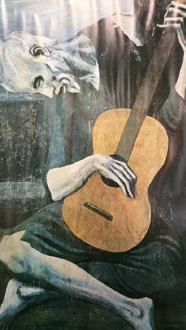 Art Print Old Guitarist Pablo Picasso - 2