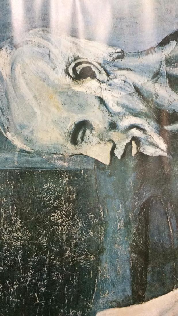 Art Print Old Guitarist Pablo Picasso - 3